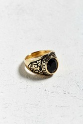 Urban Outfitters Class Ring Gold