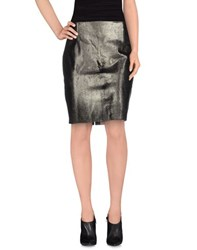 Elie Tahari Skirts Knee Length Skirts Women Bronze