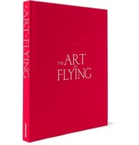 Assouline The Art Of Flying Hardcover Book Red