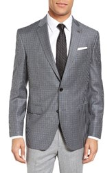 Ted Baker Men's London Jay Trim Fit Check Wool Sport Coat