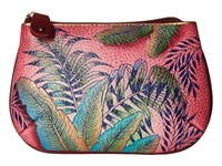 Anuschka 1107 Tropical Island Coin Purse Blue