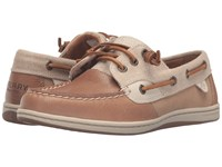Sperry Songfish Waxy Canvas Linen Oat Women's Lace Up Moc Toe Shoes Tan