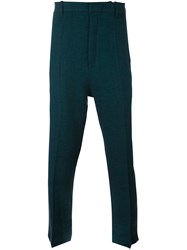 Ann Demeulemeester Casual Trousers Green