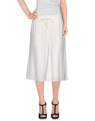 Helmut Lang Skirts Knee Length Skirts Women