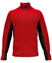 Spyder Constant Zip Performance Sweater Red