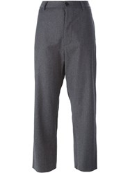Barena Cropped Trousers Grey