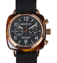 Briston Clubmaster Chronograph Date Watch 14140.Pra.T.1.Nb Black