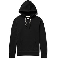 Reigning Champ Loopback Cotton Jersey Hoodie Black