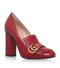 Gucci Marmont Loafer 105 Female Grey
