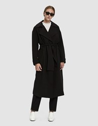Just Female Axelle Trench Coat Black