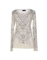 John Richmond Sweaters Ivory