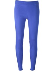 P.A.R.O.S.H. 'Shanx' Cropped Trousers Blue