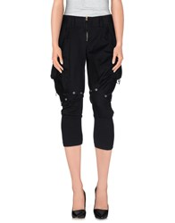 Marithe' F. Girbaud Marithe Francois Girbaud Trousers 3 4 Length Trousers Women Black