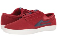 Lakai Griffin Xlk Red Suede Men's Skate Shoes