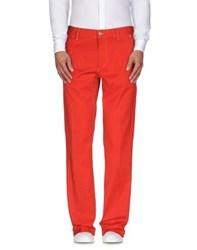 Harmontandblaine Trousers Casual Trousers Men Red
