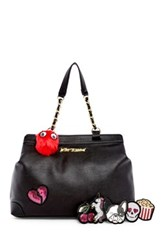 Betsey Johnson Sticky Situation Tote Black