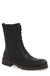 John Varvatos 'Gibbons' Round Toe Boot Men Black