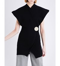 Jacquemus Le Long Cotton Cardigan Black