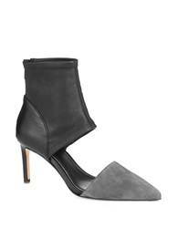 Elie Tahari Dell Colorblock Pumps Grey
