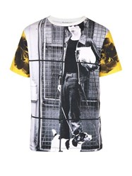 Jw Anderson X Gilbert And George Print Cotton T Shirt White Multi