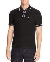 Original Penguin Earl Slim Fit Polo Shirt Total Eclipse