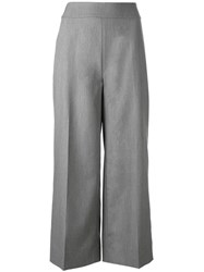 Just Female Utah Trousers Women Polyester Spandex Elastane Viscose S Grey
