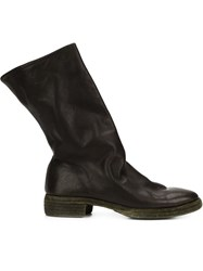 Guidi Pull Up Boots Green