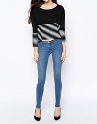Dr. Denim Dr Denim Kissy Super Skinny Jeans Lightblue