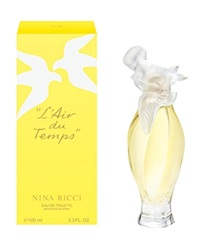 Nina L'air Du Temps Eau De Toilette Dove Bottle Spray 3.3 Oz. No Color