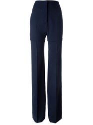 Calvin Klein Collection Wide Leg Trousers Blue