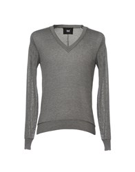 Dandg D G Sweaters Grey