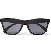 Oakley Frogskins Square Frame Acetate Sunglasses Black
