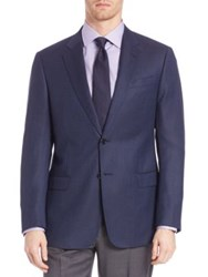 Armani Collezioni Two Button Wool Sportcoat Navy
