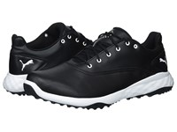 Puma Golf Grip Fusion Black White Golf Shoes
