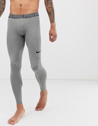 Nike Training Pro Tights In Gray