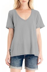 Michael Stars Women's V Neck Supima Cotton Tee