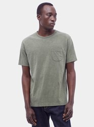 Ymc Olive Green Wild Ones Pocket T Shirt