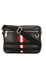 Bally Grosgrain Striped Messenger Bag 60