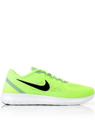 Nike Free Run Trainers Neon Green Yellow