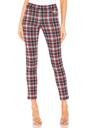 Chaser Skinny Pants Red