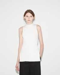 3.1 Phillip Lim Ribbed Tank White