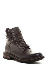 Guess Rand Lace Up Boot Brown