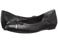 Rockport Total Motion 20Mm Bow Ballet Black Nappa Women's Flat Shoes