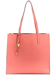 Marc Jacobs The Grind Shopper Tote Pink And Purple