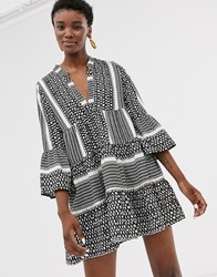 Only Printed Smock Mini Dress Multi