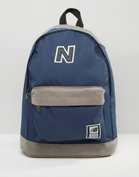 New Balance 420 Backpack In Blue Blue