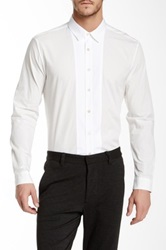 Crow Philosophy Tux Shirt White