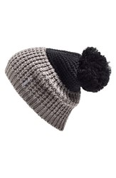 Women's Lole Colorblock Beanie Black
