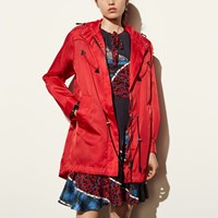 Coach Western Parka Red