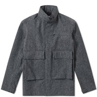 Nanamica Wool Gore Tex Jacket Grey
